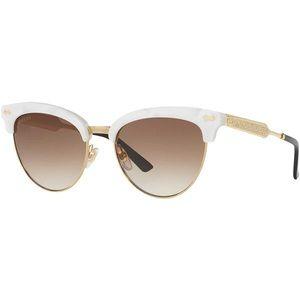 c4f2abccca0 Gucci Accessories - Gucci • Retro Cat-Eye Half-Frame Sunglasses